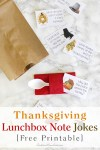 Free Printable Thanksgiving Lunchbox Note Jokes