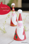 Tutorial | Santa Claus Kids' Craft