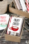 Cup of Cheer Printable | Hot Chocolate Gift Idea