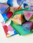 Free Printable Watercolour Paper Gems