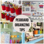 16 Pegboard Organizing Tips