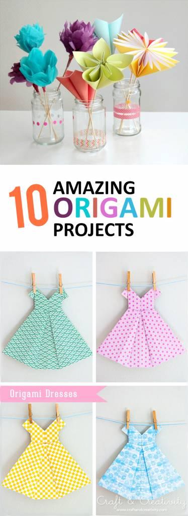 10 Amazing Origami Tutorials For Scrapbooks Scrap Booking
