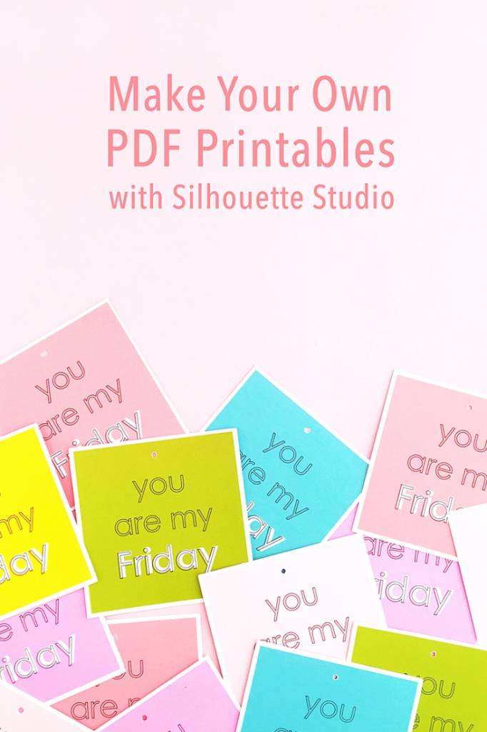 Create Your Own Pdf Printables With Silhouette Studio Scrap Booking