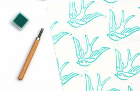 How to Carve Your Own Custom Stamp