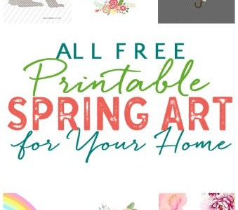 Pretty Free Spring Printables