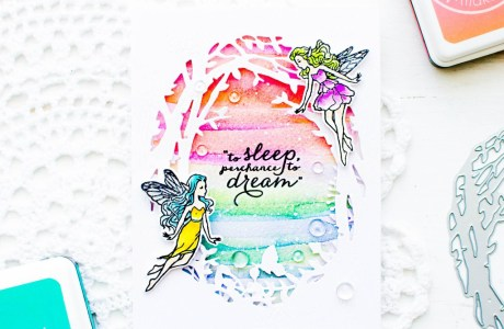 Tutorial | Watercolor Fairyland Card