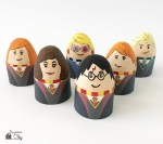 Printable Egg Holders for Harry Potter Easter Eggs