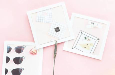 DIY Mini Picture Frames