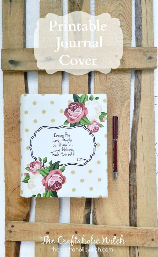 Printable Journal or Notebook Cover