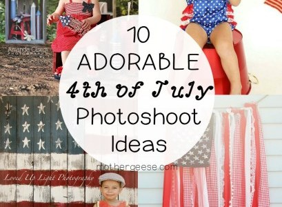 10 Adorable 4th of July Photo Shoot Ideas