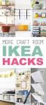 More Craft Room IKEA Hacks