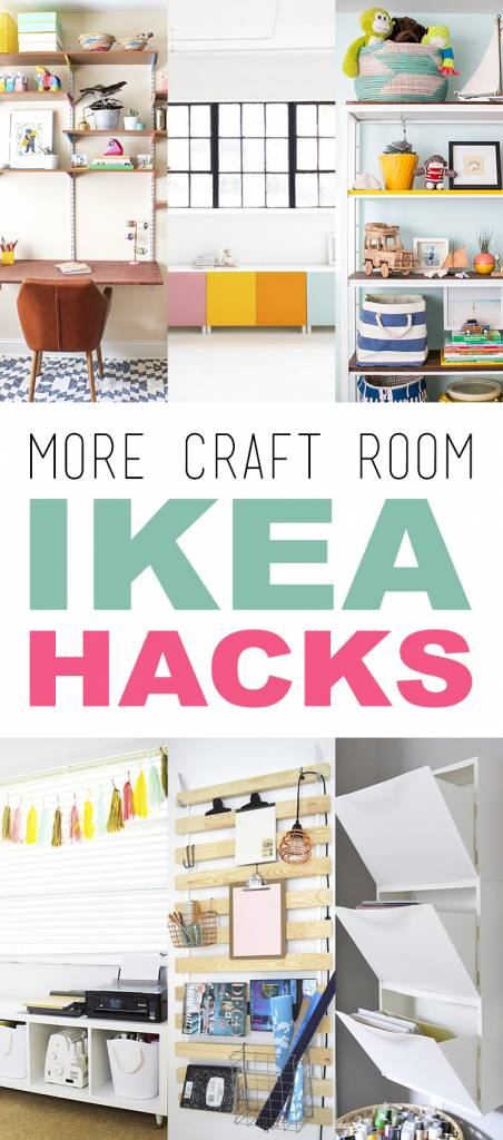 More Craft Room Ikea Hacks Craft Gossip Bloglovin