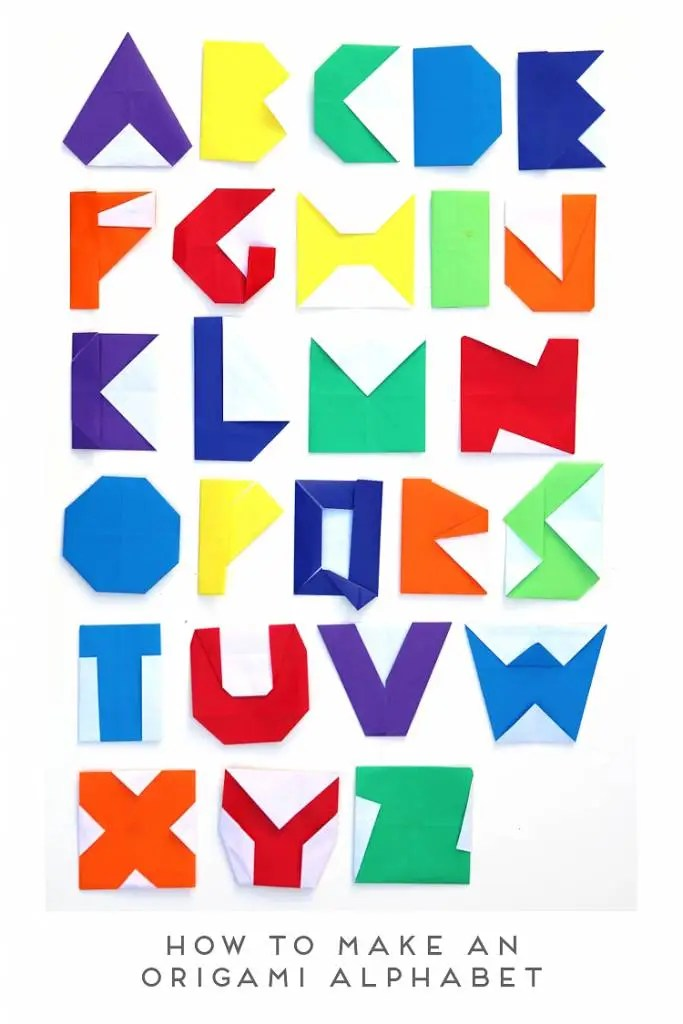 I Think That These Origami Letters Would Look Totally Great On A Scrapbook Page As Tile Embellishment Or Monogram Dont You