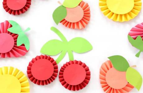 Three Ways to Make Paper Rosette Fruit