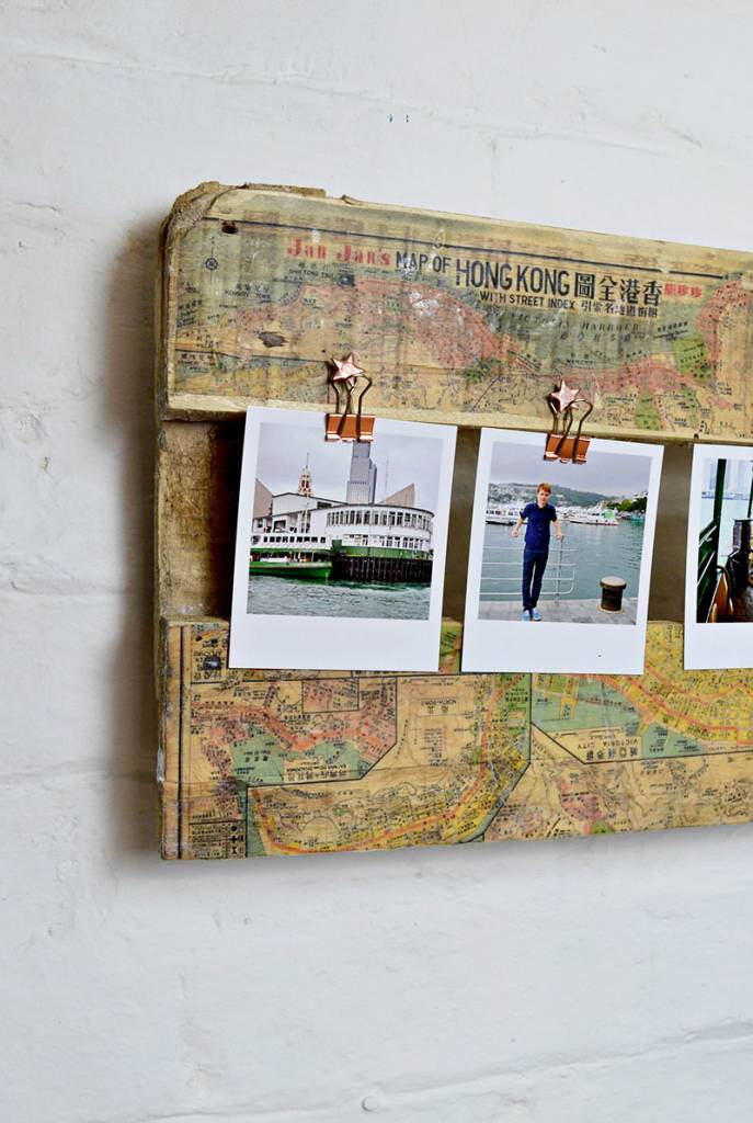How to Make a Stunning Printed Map Picture Frame