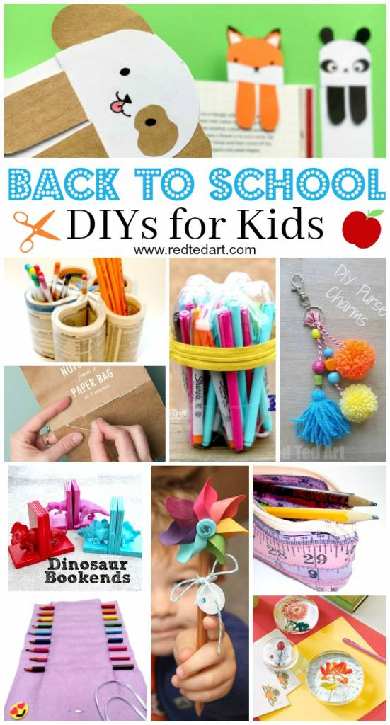 Back to school diy ideas stationery crafts scrap booking for Arts and crafts stores near my location