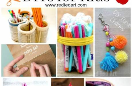 Back to School DIY Ideas – Stationery Crafts
