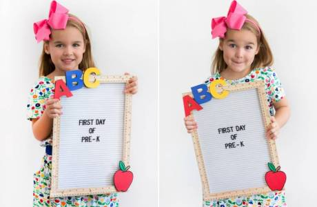 Back to School DIY Felt Letter Board