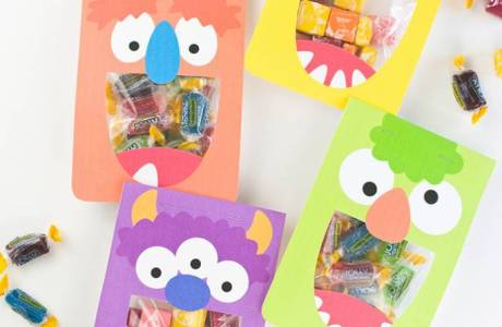 Printable Silly Monster Treat Bags