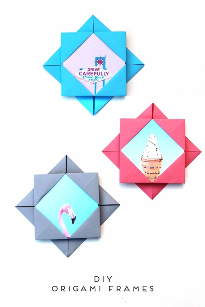 These DIY Origami Photo Frames Will Brighten Up Your Scrapbook ...
