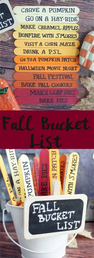 DIY | Fall Bucket List & Photo Ideas