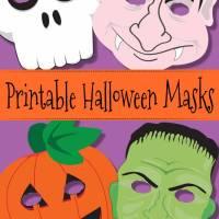 Free Printable Halloween Masks For Kids