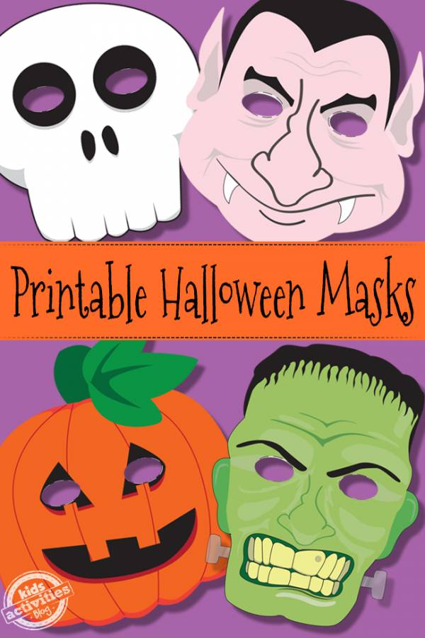 Geeky image throughout free printable halloween masks