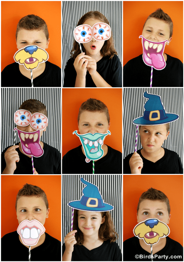 Super Fun Halloween Photo Booth Printables?