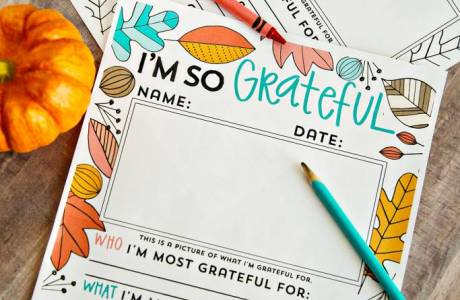 I'm so grateful… Thanksgiving Coloring Pages