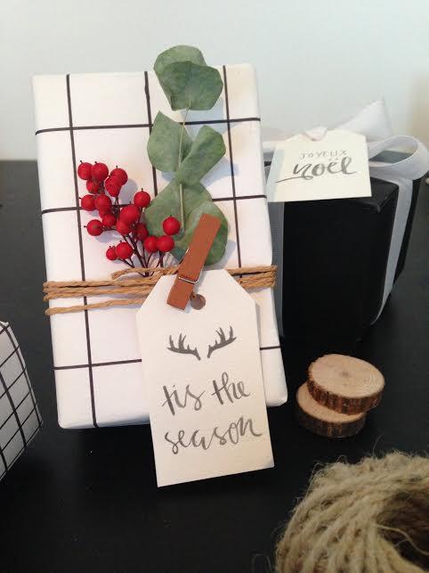 Printable Minimalist Christmas Gift Tags
