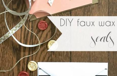 DIY Faux Wax Seals
