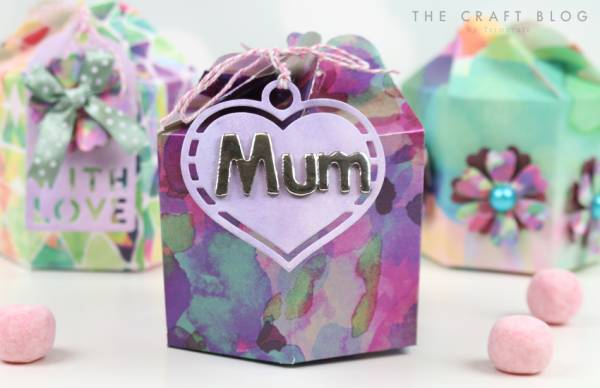 DIY Mother's Day Gift Box Tutorial