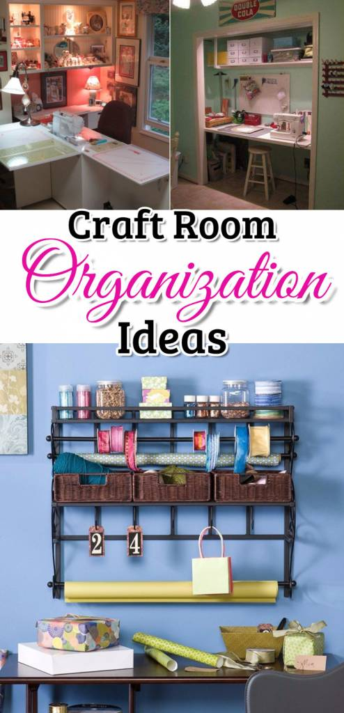 DIY Craftroom Organization – Unexpected & Creative Ways to Organize Your Craft Room