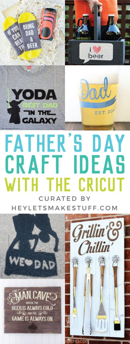 Father's Day Craft Ideas with the Cricut