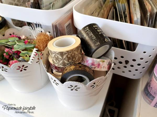 Craft Room Tour with Storage Tips