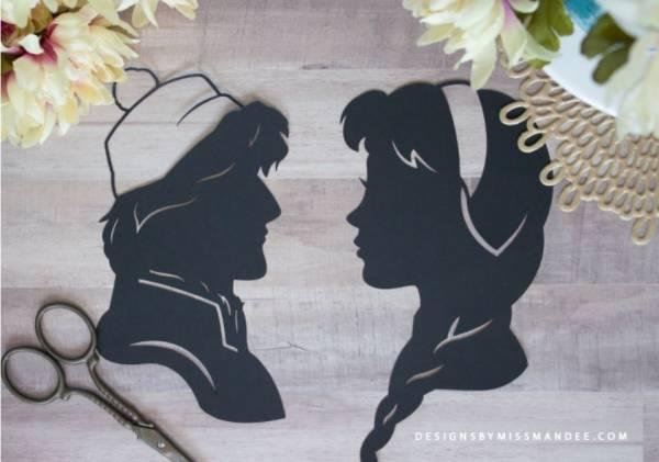 Disney Prince Silhouette Dies