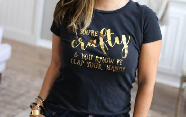 Crafty T-shirt Design