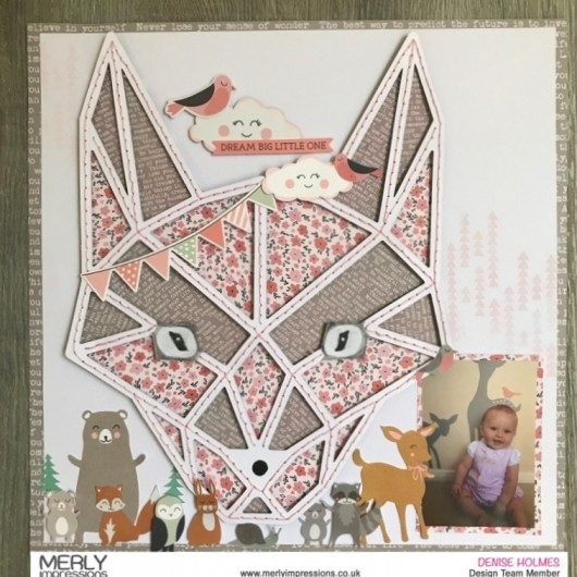 Woodland Animals Baby Layout