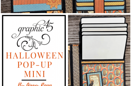 Halloween Steampunk Pop Up Mini Album