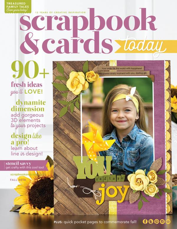 One Line Scrapbooking Magazine