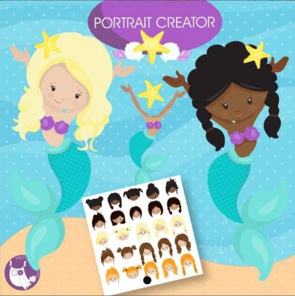 Mermaid Clip Art Download