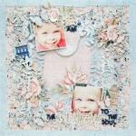 Pastel Christmas Page
