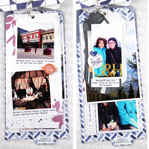 Travel Tags Mini Album