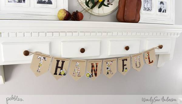 Easy Thanksgiving Paper Banner