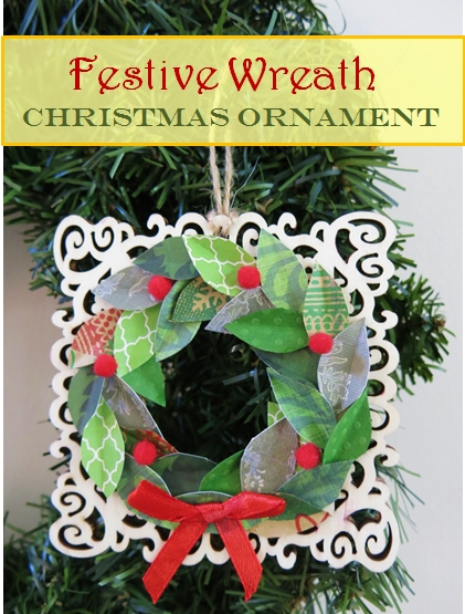 Wreath Christmas Ornament