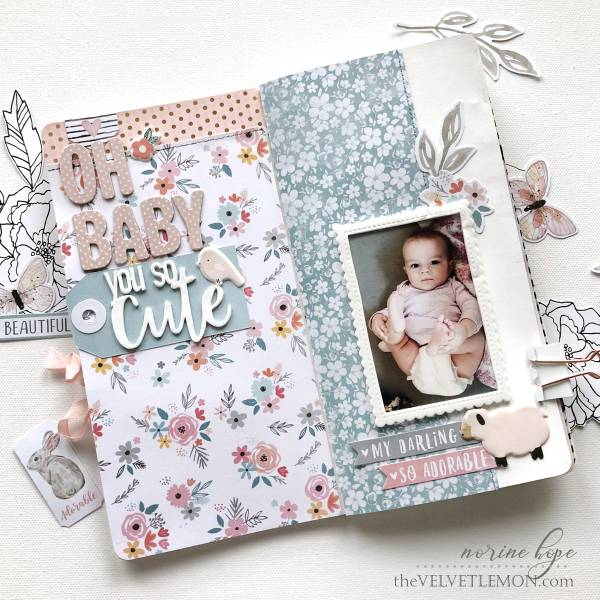 Baby Traveler's Notebook Pages