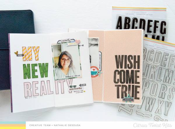 Using Letter Stamps for Journals