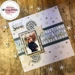 Let it Snow Scrapbook Page