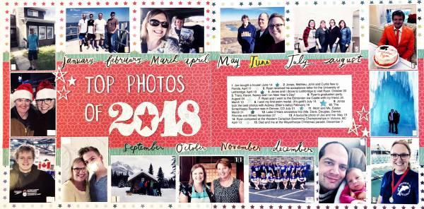 Top Photos Layout