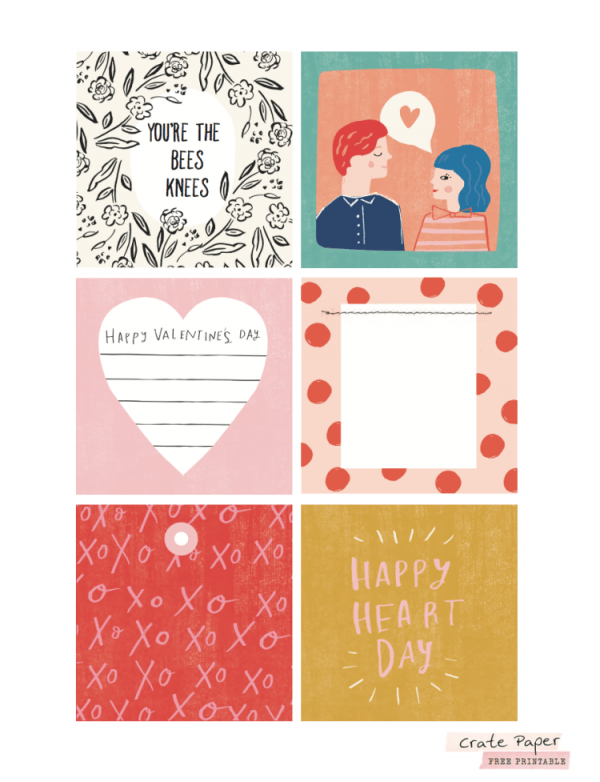 12 Valentine's Day Printables